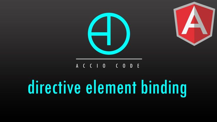 AngularJS Tutorial: Part 6 - Directive Element Binding GitHub Repo: https://github.com/colorfest/angularjs/tree/directives  This video gets a bit more into Directives and the element in particular. We will bind basic behaviors to the element such as mouseenter and mouseleave to trigger a change in our new button.  Follow us on Facebook: https://www.facebook.com/pages/Accio-Code/640580202673268