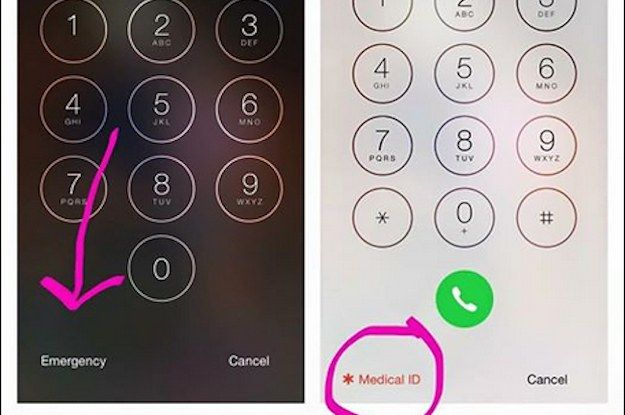 This iPhone Trick Allows You To Access Your Information During A Medical Emergency