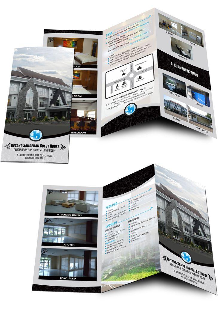 Trifold brochure for christistian house