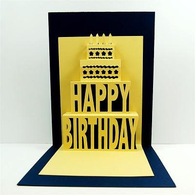 Happy Birthday pop up