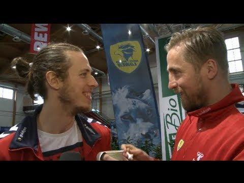 Die Löwen auf der REWE Warenmesse - Teil 1 #Handball #RNLoewen