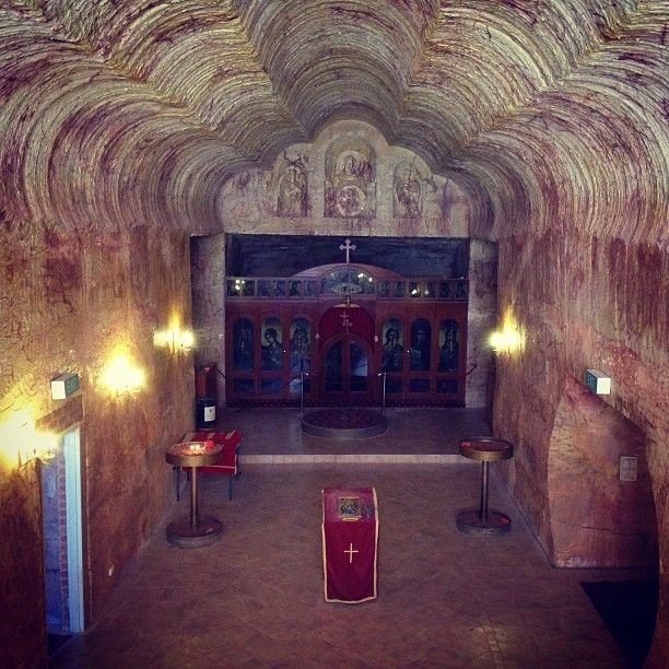 . markonthemap Underground church of Coober Pedy