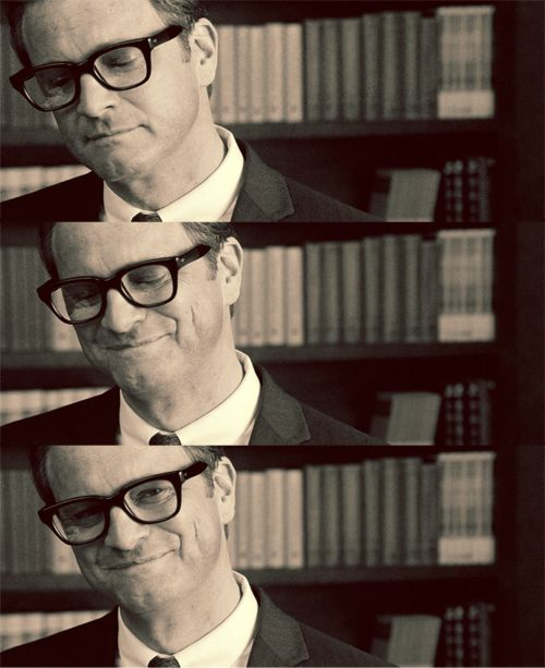 Oh Colin Firth...your attractiveness knows no bounds