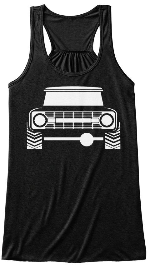 Bronco Truck 4X4 Women's Tank Top Black