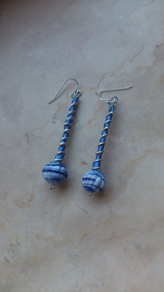 earrings made with recycled Nespresso capsules by onlywishh, €8.00