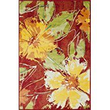 Outdoor And Indoor Tropical Area Rugs   Beachfront Decor