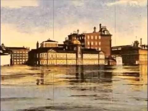 1908, Москва, утро 10 апреля москвичи встретили на крышах домов. Гигантс...