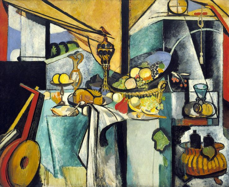"Henri Matisse Still Life after Jan Davidsz. de Heem's ""La Desserte"" 1915"