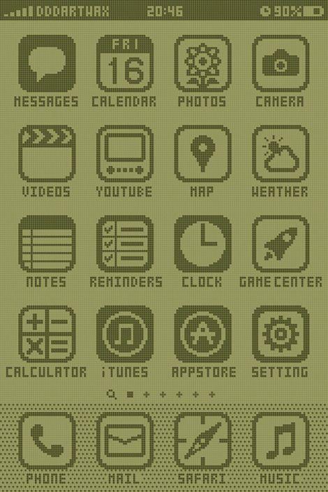 8bit iPhone - by jaymug.com