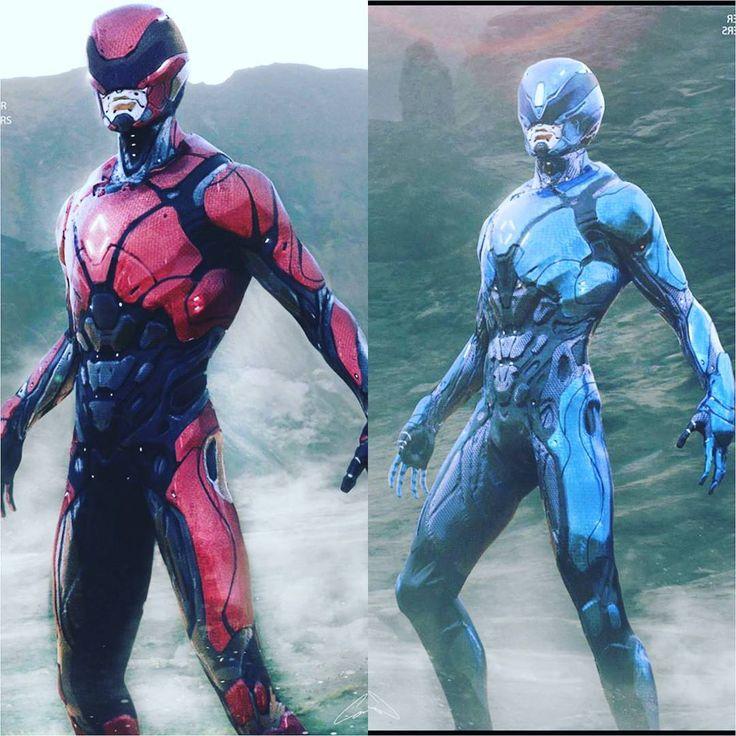 "610 curtidas, 15 comentários - Power Ranger Talk (@powerrangertalk) no Instagram: ""Rejected Power Rangers Movie suit designs  #PowerRangersMovie #powerrangers #gogo…"""