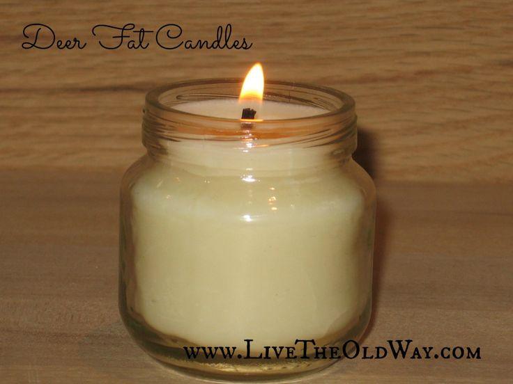 how to make lard candles