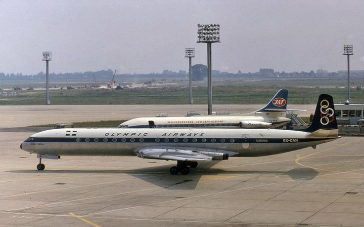 Olympic Airways De Havilland DH-106 Comet 4B (Queen Sophia) [SX-DAN]