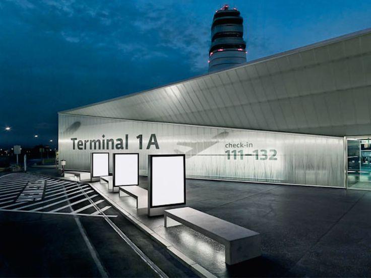 Vienna Airport  by intégral Ruedi Baur Paris
