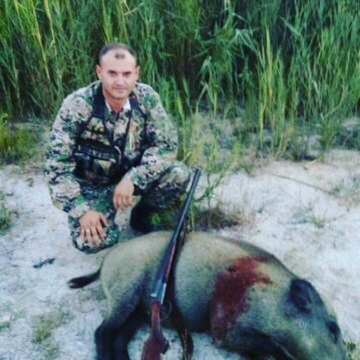 Охота на кабана в Атырауской области. Сезон 2016 года. От подписчика @sergei_tulaev. #охота #охотанакабана #атырау #охотникикз