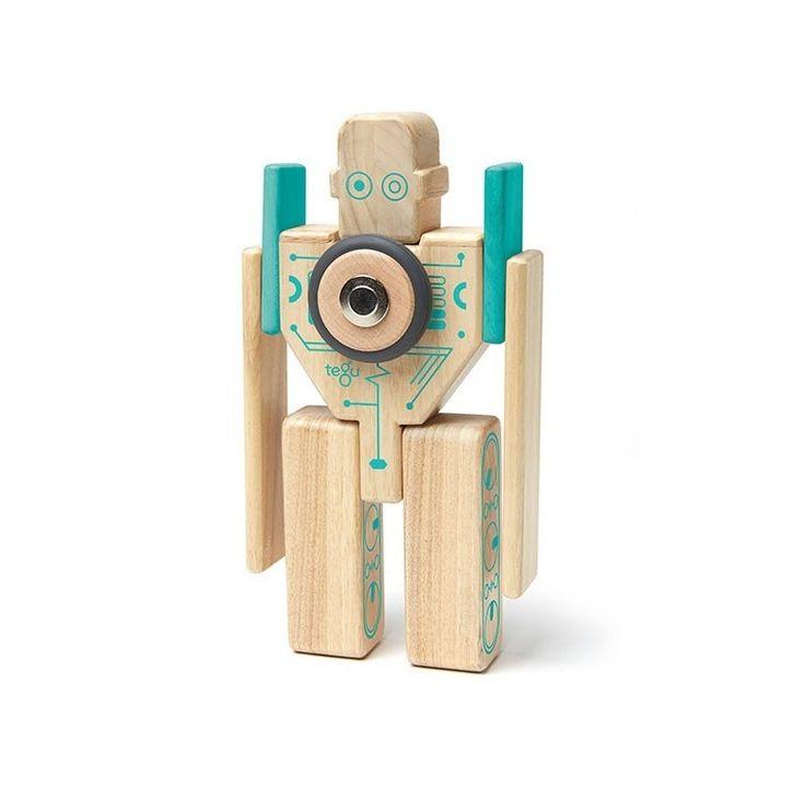 Magbot est un jeu de constructions magnétiques de robots modulables. Coffret de 9 blocks / 6 formes différentes : 2 longues planches, 2 planches co...