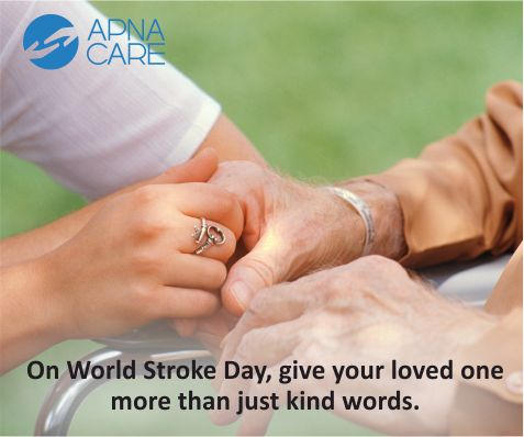 #WorldStrokeDay - Oct.29  There is 90% chance of your recovery from Stroke if you follow home rehabilitation regularly. Read more http://apnacare.in/world-stroke-day  Addressing the long-term needs of people during life after stroke, ApnaCare has brought out a set of handy tools and living aids as a kit.  SHOP NOW : https://apnacare-eshop.in/products/stroke-care-kit  #stroke #strokecare #elderlycare #homhealthcare #symptoms #hope #kits #rehab #neuro #neurocare