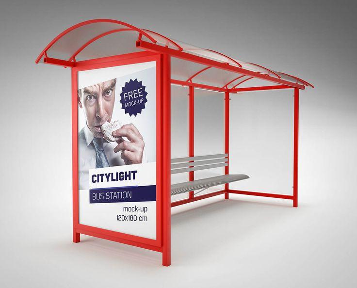 Citylight / Bus Station / Mock-up