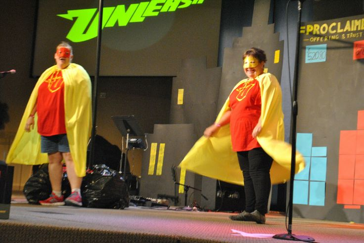 superhero vbs - For the skit at the beginning