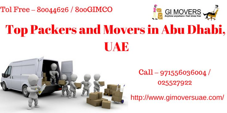 Are You Planning to Hire Professional Movers and Packers for your shifting search for Packers and Movers in Abu Dhabi, UAE?