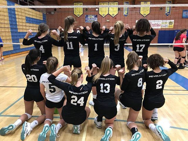 Did You Know Revolution Volleyball Academy Offers Outstanding Volleyball Club Services In And Around Pho Volleyball Clubs Volleyball Training Athletic Training