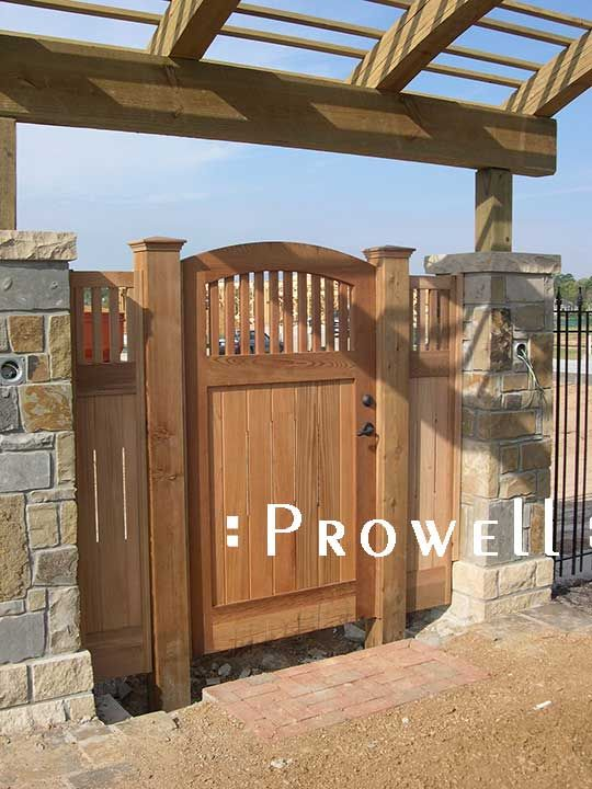Prowell Woodworks Original Garden Gate 7 Fences Gates