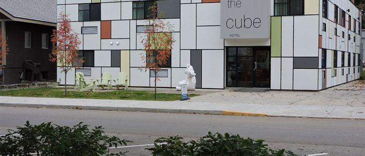 Revelstoke Hotel | The Cube Hotel | Revelstoke, BC