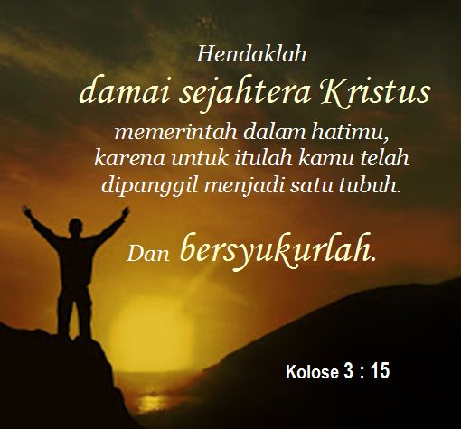 Kolose 3 : 15