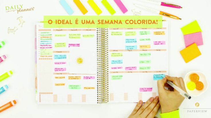 DAILY PLANNER | Color Code