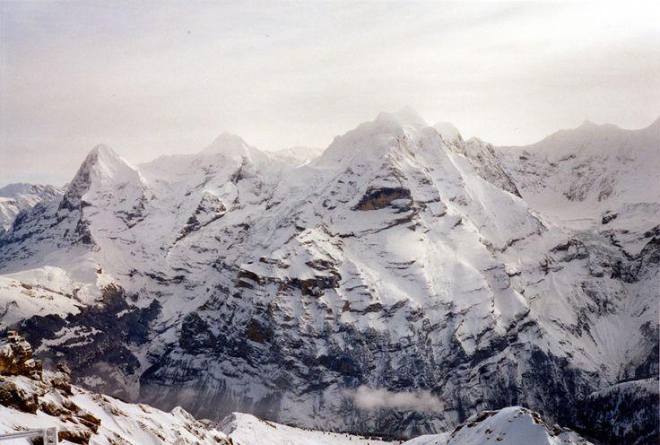 Eiger da Piz Gloria