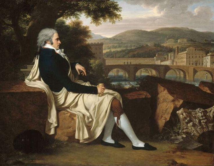 Toscane, Florence, Joseph Allen Smith, par François Xavier Pascal 1797