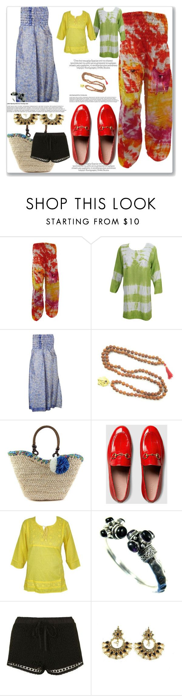 """Collection College Chic"" by era-chandok ❤ liked on Polyvore featuring Gucci, Topshop, dress, sale, offer, collegegirls and boostyle"
