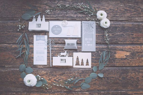 Inspiration: Un matrimonio invernale in montagna