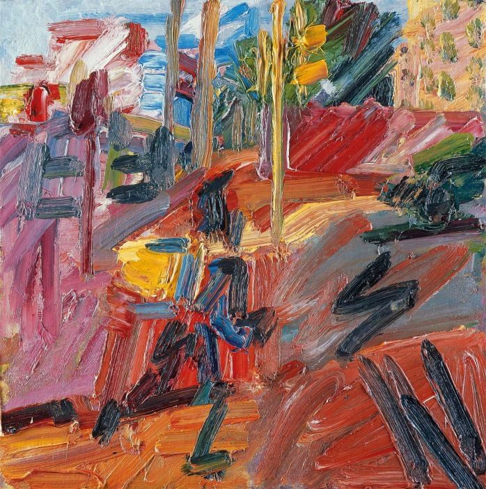 Frank Auerbach - Hampstead Road, High Summer