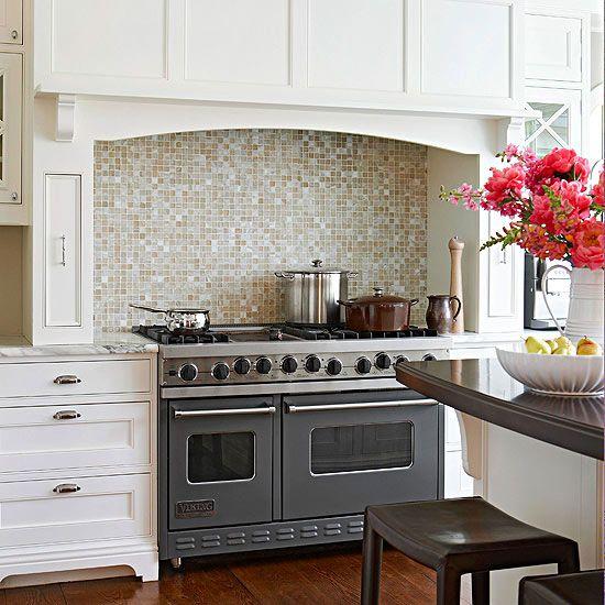 Tile Backsplash Ideas For Behind The Range Kitchen Backsplash Ranges And Viking Range