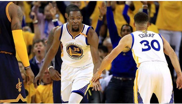 Steph & KD, Game 1, NBA Finals 2017