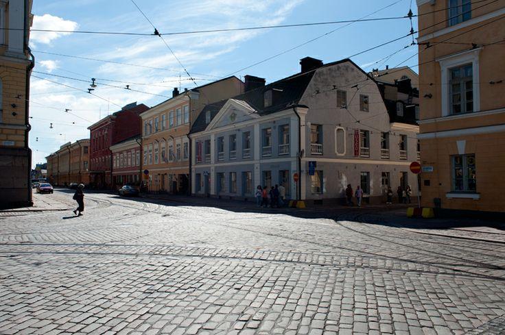 Uuden kaupunginmuseon pääsisäänkäynti tulee Aleksanterinkadulle, Sederholmin talon vieressä olevaan porttikongiin. Kuva: Helsingin kaupunginmuseo / Sakari Kiuru