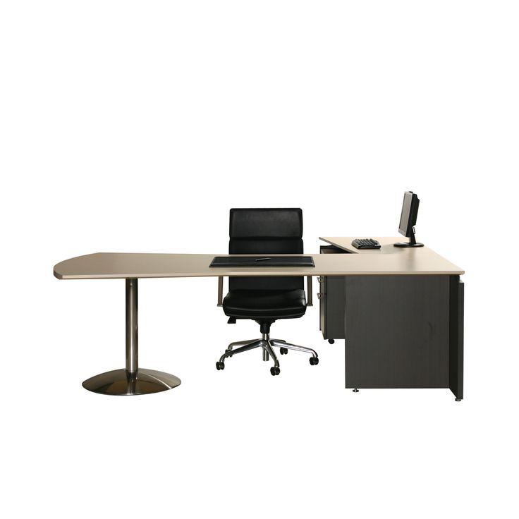 V4 Executive Dovetail Desk 2400mm