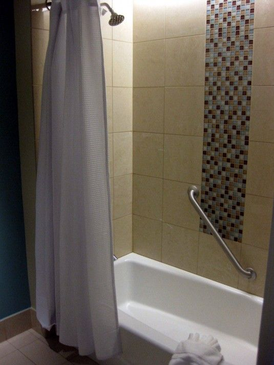 That Tile Inset Is Nice. Bathtub Shower ... Part 90