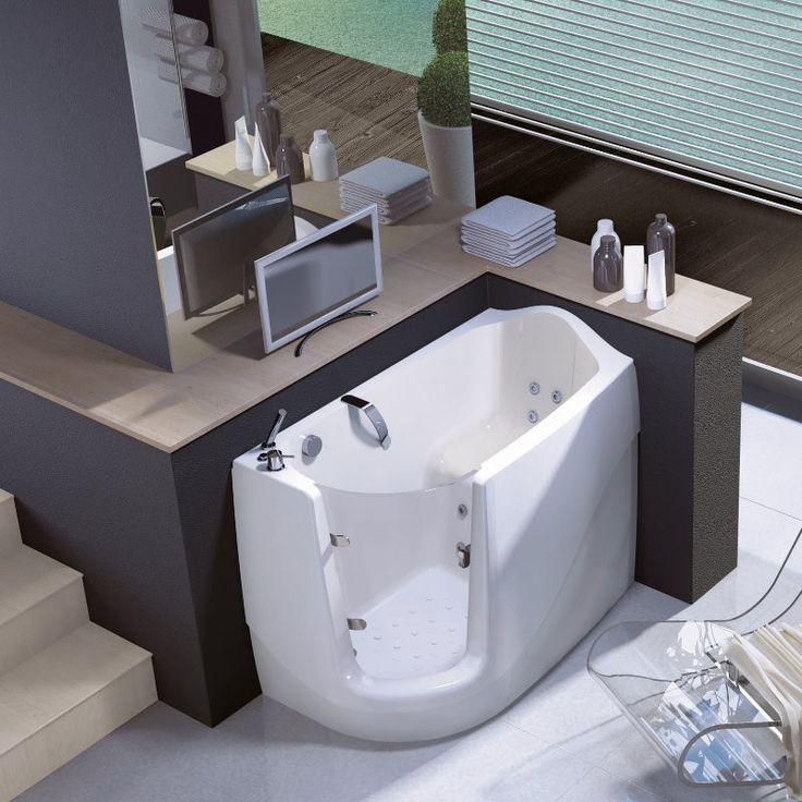 10 best ideen zu sitzbadewanne auf pinterest wannenrandarmatur waschraumgestaltung und kleine. Black Bedroom Furniture Sets. Home Design Ideas