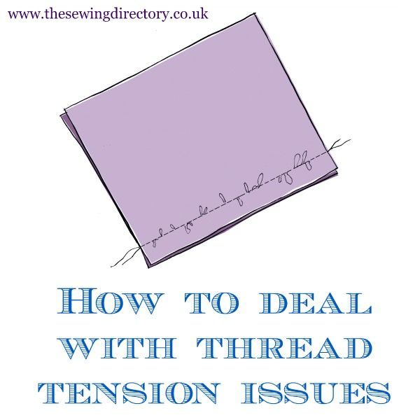 How to deal with sewing machine thread tension problems