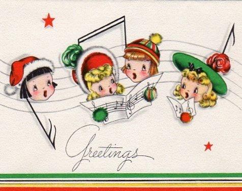 18993 best nadal images on pinterest vintage christmas cards christmas ladies vintage greeting cardsvintage m4hsunfo