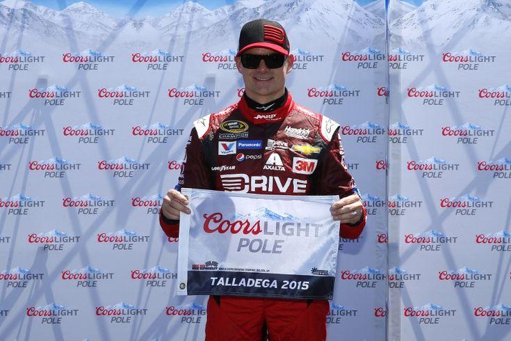 NASCAR: Pole at Talladega, May 2015