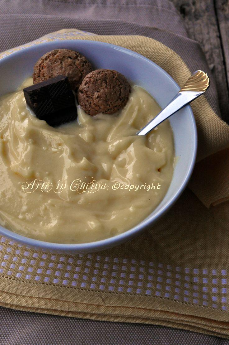 Crema pasticcera ricetta base con bimby o senza per dolci arte in cucina