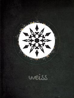 RWBY insignia: Weiss