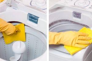 Lavadora suja estraga as roupas; veja como limpar o eletrodoméstico