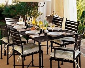 Potrero From Pottery Barn Outdoor Dining Furniture