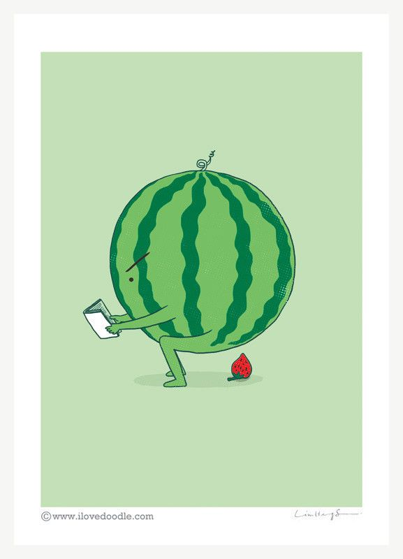 """""""The making of strawberry,"""" The visual art of Lim Heng Swee -- I don't care much for """"potty humor,"""" as it were, but I love strawberries, so I'm pinning this. The whimsical work at this site is pretty clever on the whole and I really like most of it."""