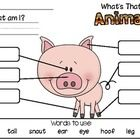 FREEBIE! What's That? Label the Picture!   Kids love labeling pictures and they love animals so you can bet they LOVE to label pictures of animals! These pictures are great in the writing center, morning work, small groups or independent practice.