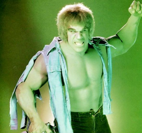 Lou ferrigno/hulk