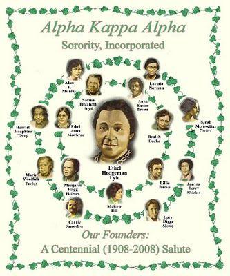 The Founders of Alpha Kappa Alpha Sorority, Inc.